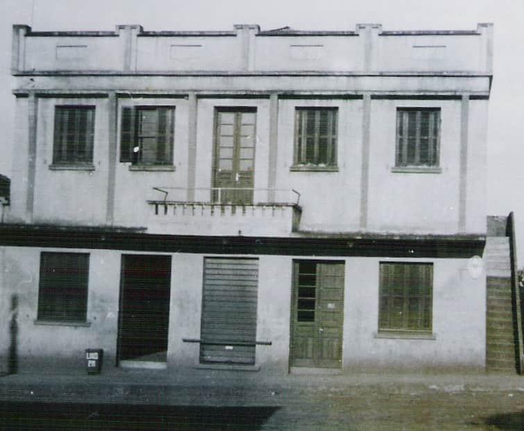 Local de funcionamento da Câmara de 1964 a 1969 (prédio Garbin)