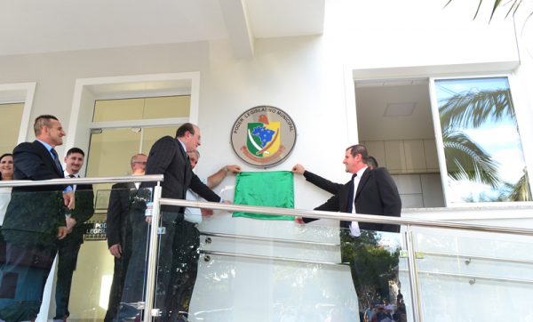 Poder Legislativo inaugura nova sede